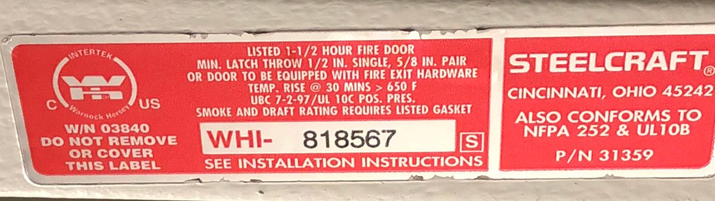 Fire Doors Fire Codes Inspections We Got You Covered
