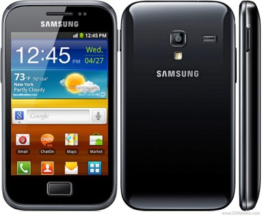 Samsung GT-S7500 Galaxy Ace Plus (Head: 0.49 W/kg – Body: 0.60 W/kg)