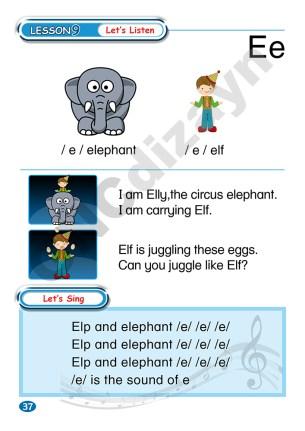Abaküsment Mental İngilizce Level 1 - Sayfa 37