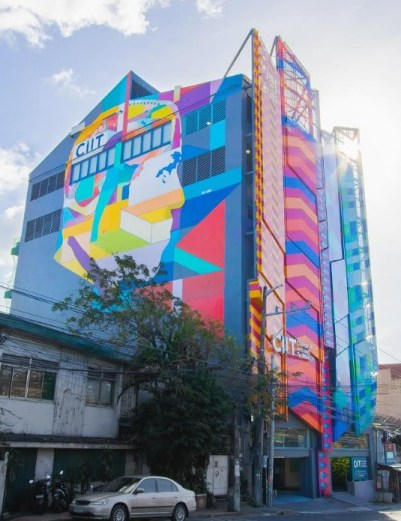 CIIT facts # 1: CIIT's seven-story building is so extra!