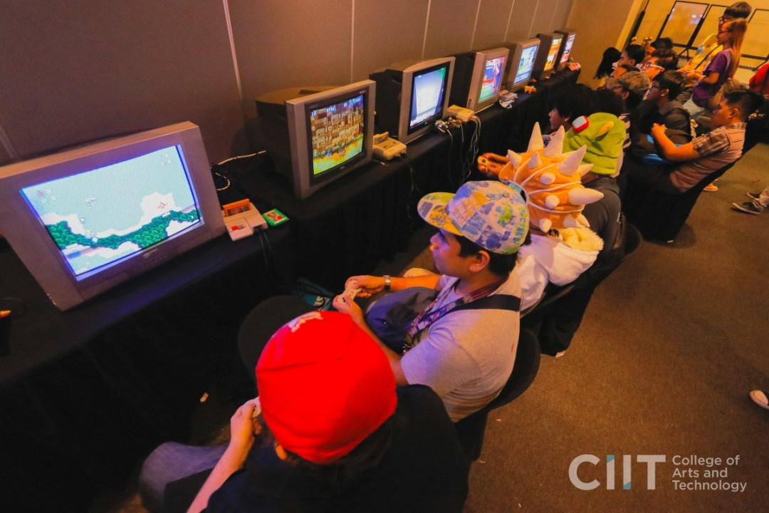 CIIT Animation and Art Fairs 2019: Retro Gaming