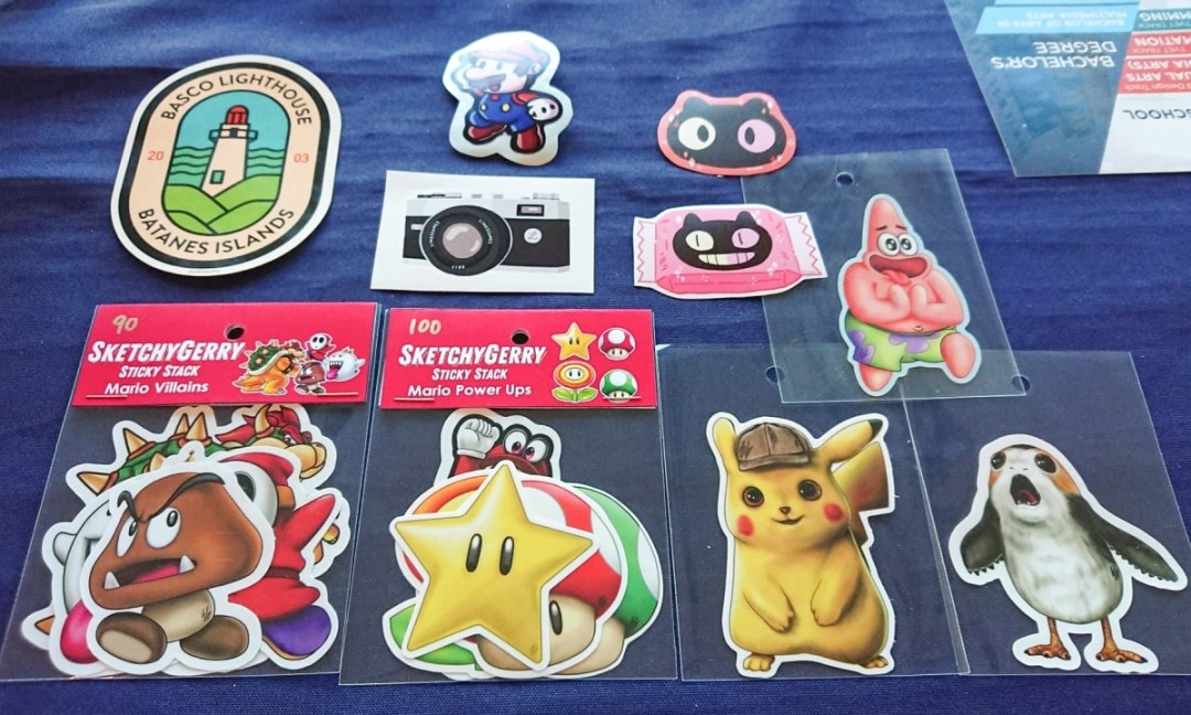 CIIT Animation and Art Fairs 2019: Sticker Con MNL Merchandise