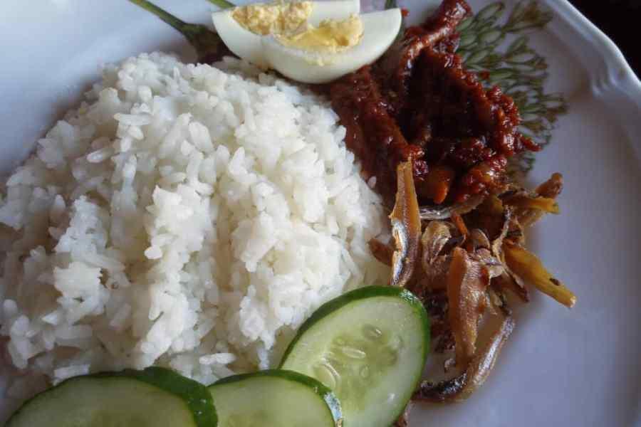 Resipi Nasi Lemak Sambal Sotong Kering Sedap Dan Padu