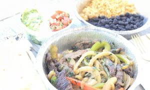 FAJITA WITH STEAK