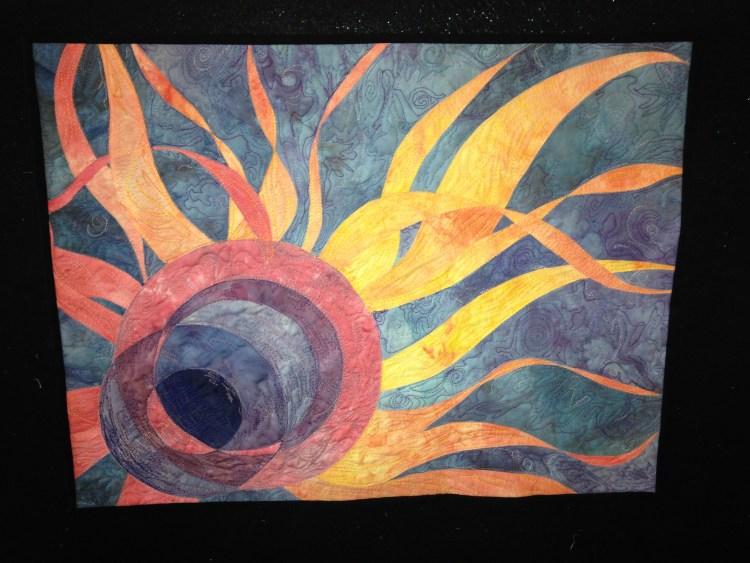 Solar Flares Eclipse