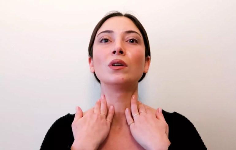 Botoks Etkili Yüz Egzersizleri   Boyun Gerginleştirme   Gıdı Yok Etme