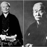 Gichin Funakoshi e Jigoro Kano