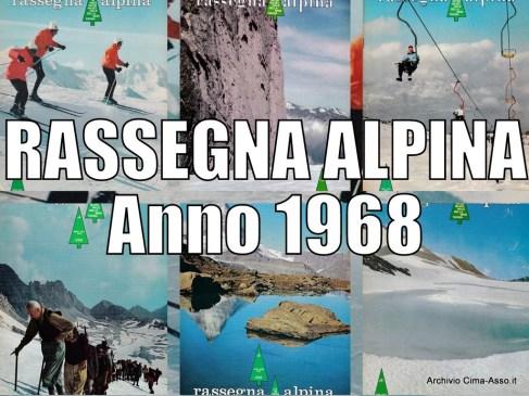 Rassegna Alpina: anno 1968
