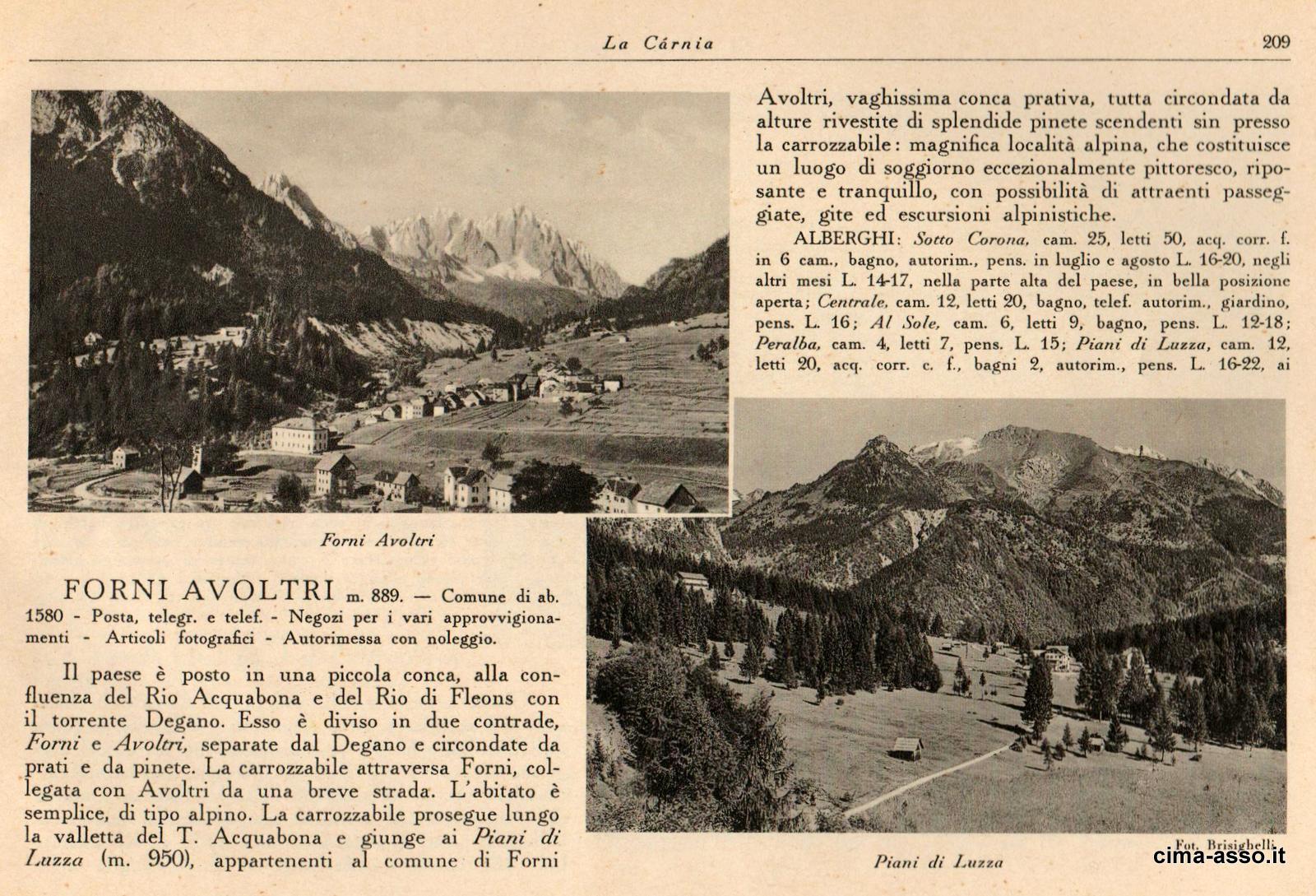 TCI-1935: Forni Avoltri