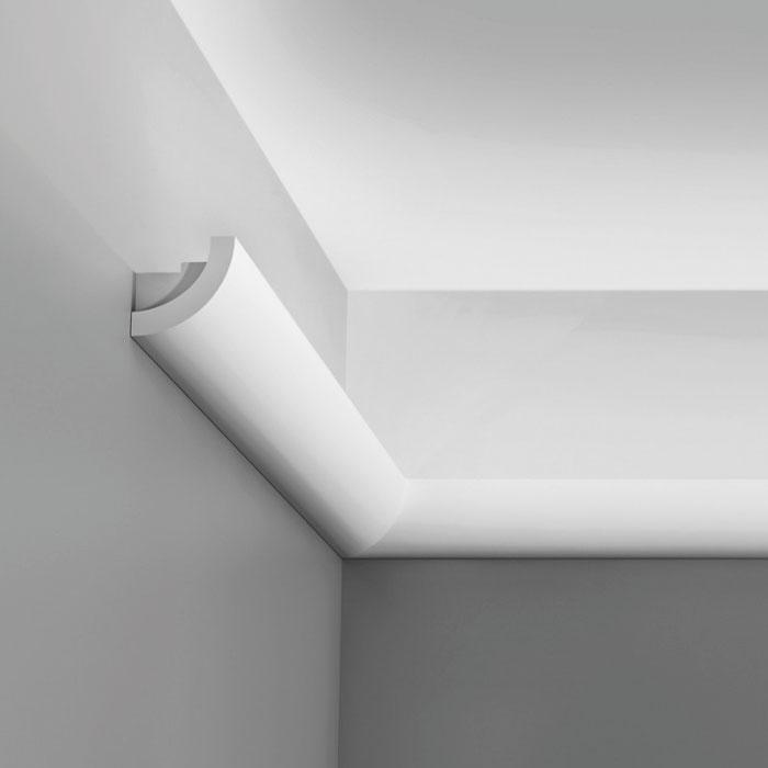 c362 corniche eclairage indirect polyurethane orac decor luxxus 5x5cm h x p