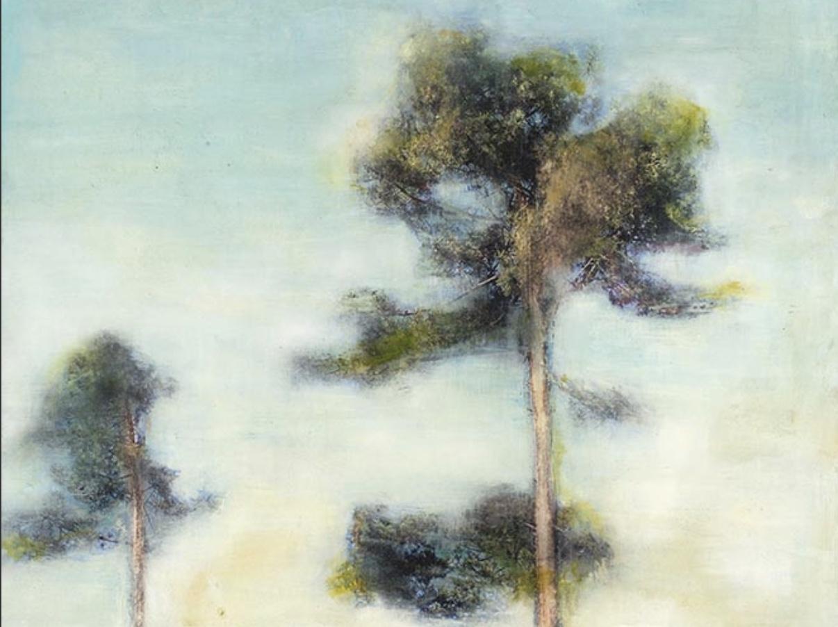 peinture, arbre, sandrine paumelle