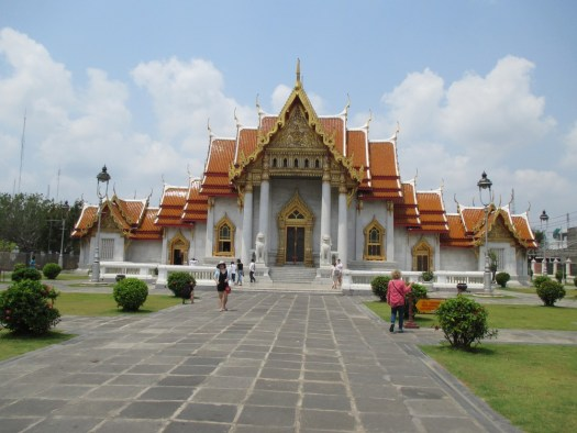 The Wat Benchamabophit temple