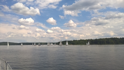 Germany Sailing on the Wannsee