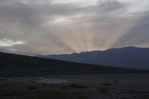 Sunset in Death Valley, USA