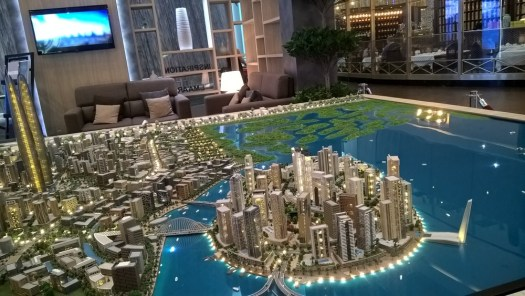 Dubai development on hold
