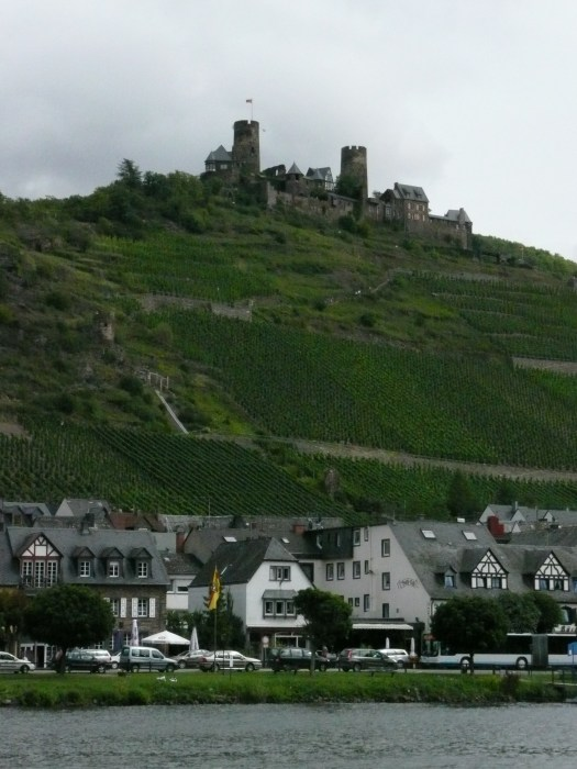 Schloss on the Mosel, Germany