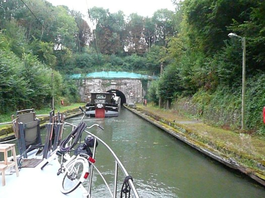 Riqueval Tunnel St Quentin Canal, France