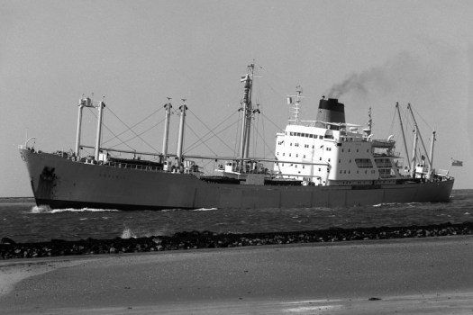Refrigerated cargo ship operated by Crusader Line