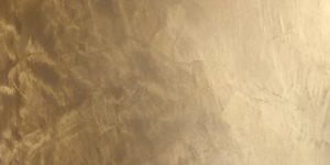 Micro-Ciment ambré métallisé