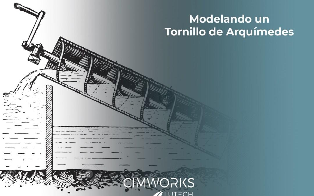 Modelando un tornillo de Arquímedes con SOLIDWORKS