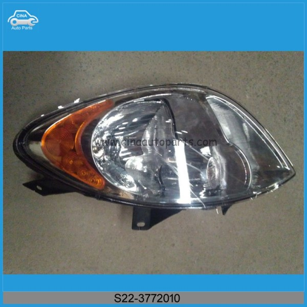 S22 3772010 - Chery RIICH S22 AUTO PARTS LAMP ASSY-HEAD LH,S22-3772010