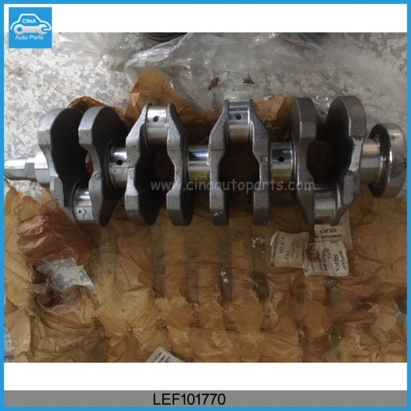 LEF101770 1.4L - MG Rover 1.4L Crankshaft Assembly OEM LEF101770