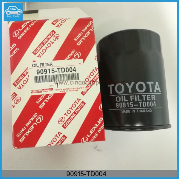 90915 TD004 - 90915-TD004 Toyota Hiace Oil Filter for cars