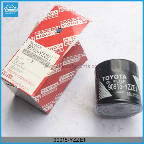 90915 YZZE1 - oil filter OEM 90915-YZZE1 for TOYOTAA YARIS/PURIS/CYNOS/COROLLA/AURIS