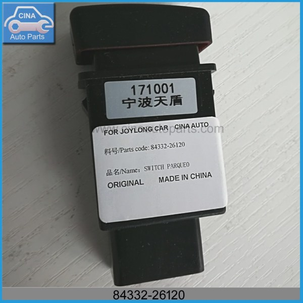 84332 26120 - Joylong bus parking switch OEM 84332-26120