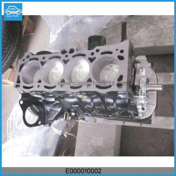 E000010002 - Geely CK-1 engine block OEM E000010002