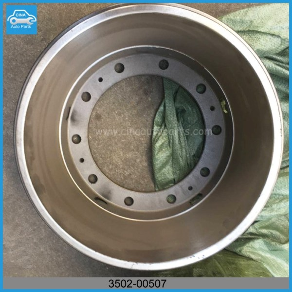 3502 00507 - yutong bus Rear brake drums OEM 3502-00507