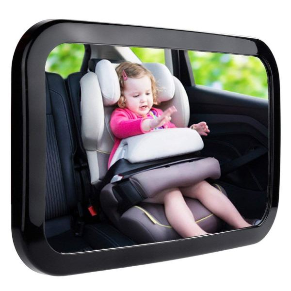 baby car mirror - Baby Car Mirror, Shatter-Proof Acrylic Baby Mirror for Car, Rearview Baby Mirror-Easily to Observe the Baby's Every Move Safety and 360 Degree Adjustability