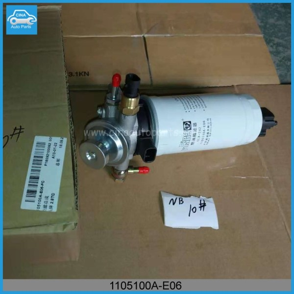 1105100A E06实物图 - Great wall haval fuel filter OEM 1105100A-E06