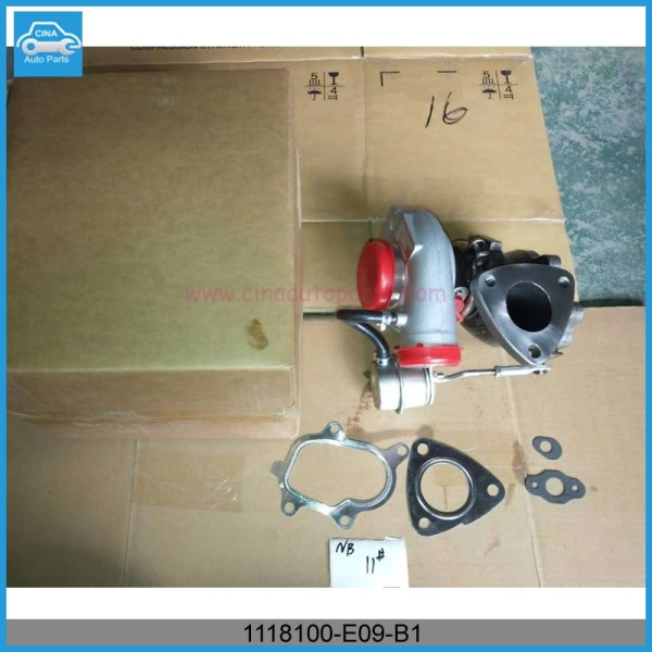 1118100 E09 B1实物图 - Great wall haval turbocharger OEM 1118100-E09-B1