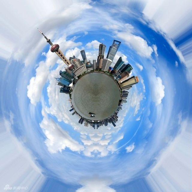 panoramic photos of Shanghai