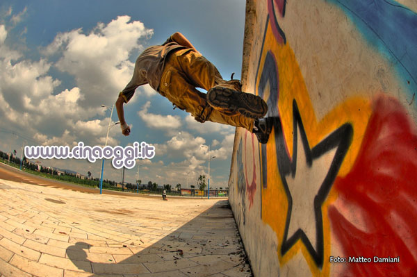 Chinese young people - Chinese freerunner