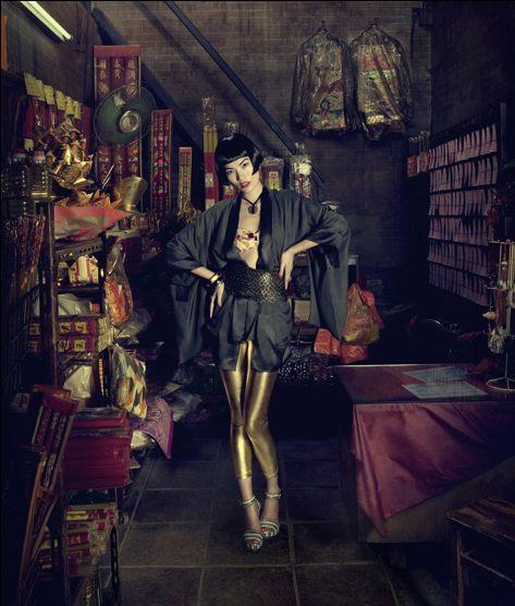 Supermodel Li Danni