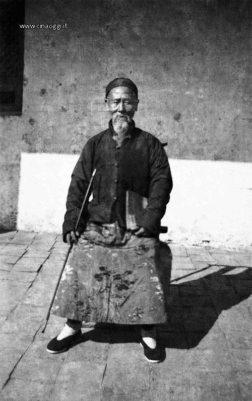 The missionaries' Chinese language teacher