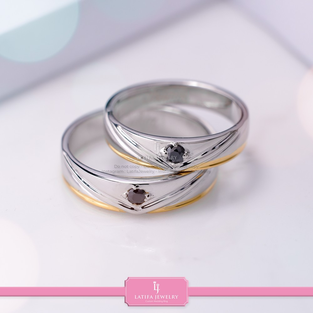 toko cincin nikah Solo Bontang Surabaya Cincin kawin Cincin tunangan Cincin couple custom Cincin emas perak palladium platinum Solo Bontang Surabaya murah (82)
