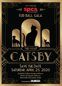 SPCA Fur Ball Gala: The Great Catsby @ Sharonville Convention Center | Cincinnati | Ohio | United States