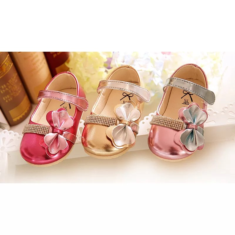 Baby Girls Sparkling Party Shoes 670