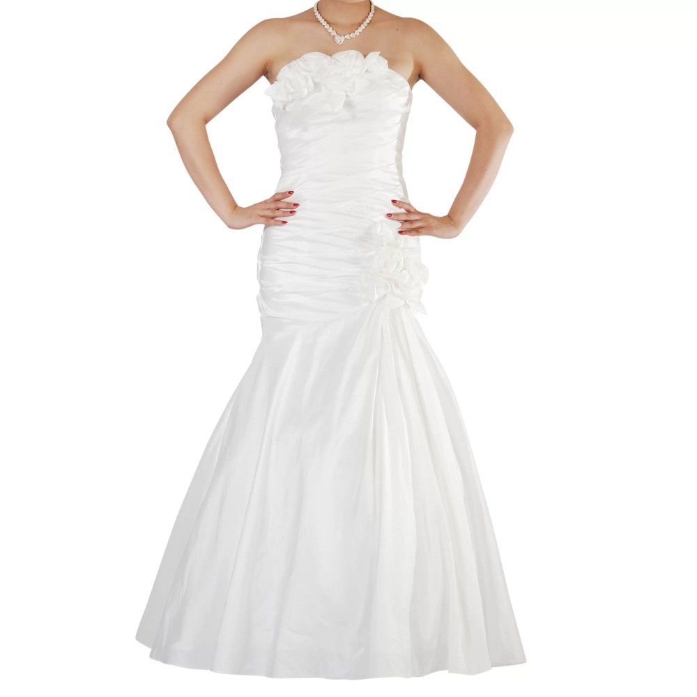 Ivory Wedding Dress Prom Dress Bridesmaid Dress UK Size 6-12