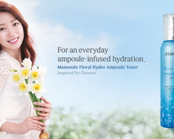 Image of Mamonde floral hydro skincare range Review