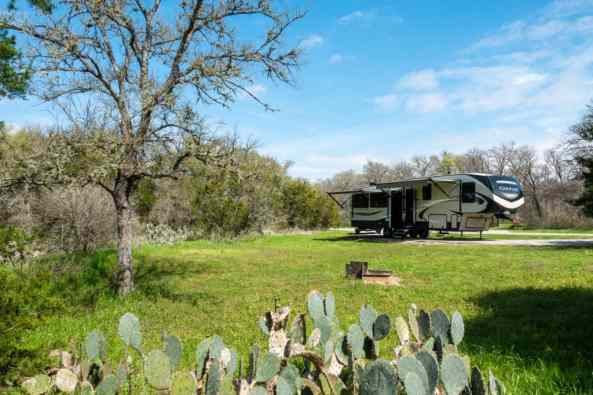 McKinney Texas Camping Spot How to Keep Calm while Parking your Camper