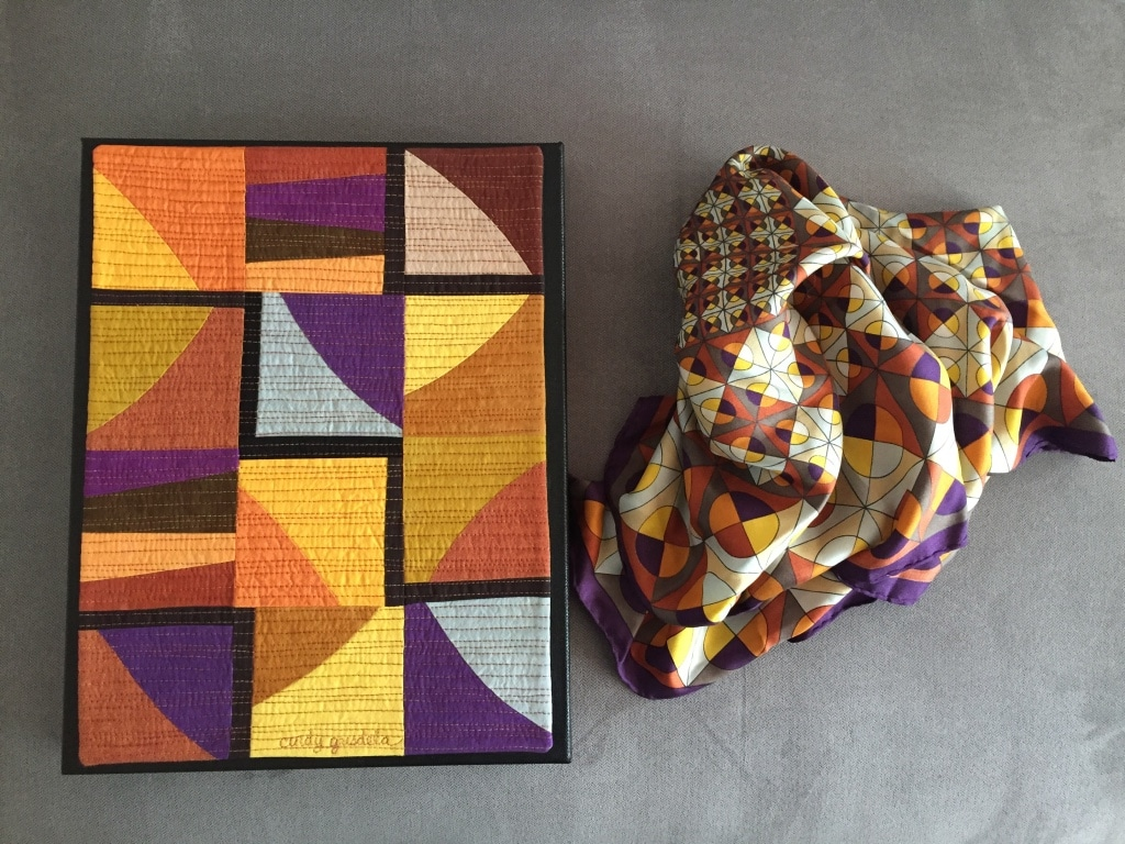Quilt Inspiration from a Gift