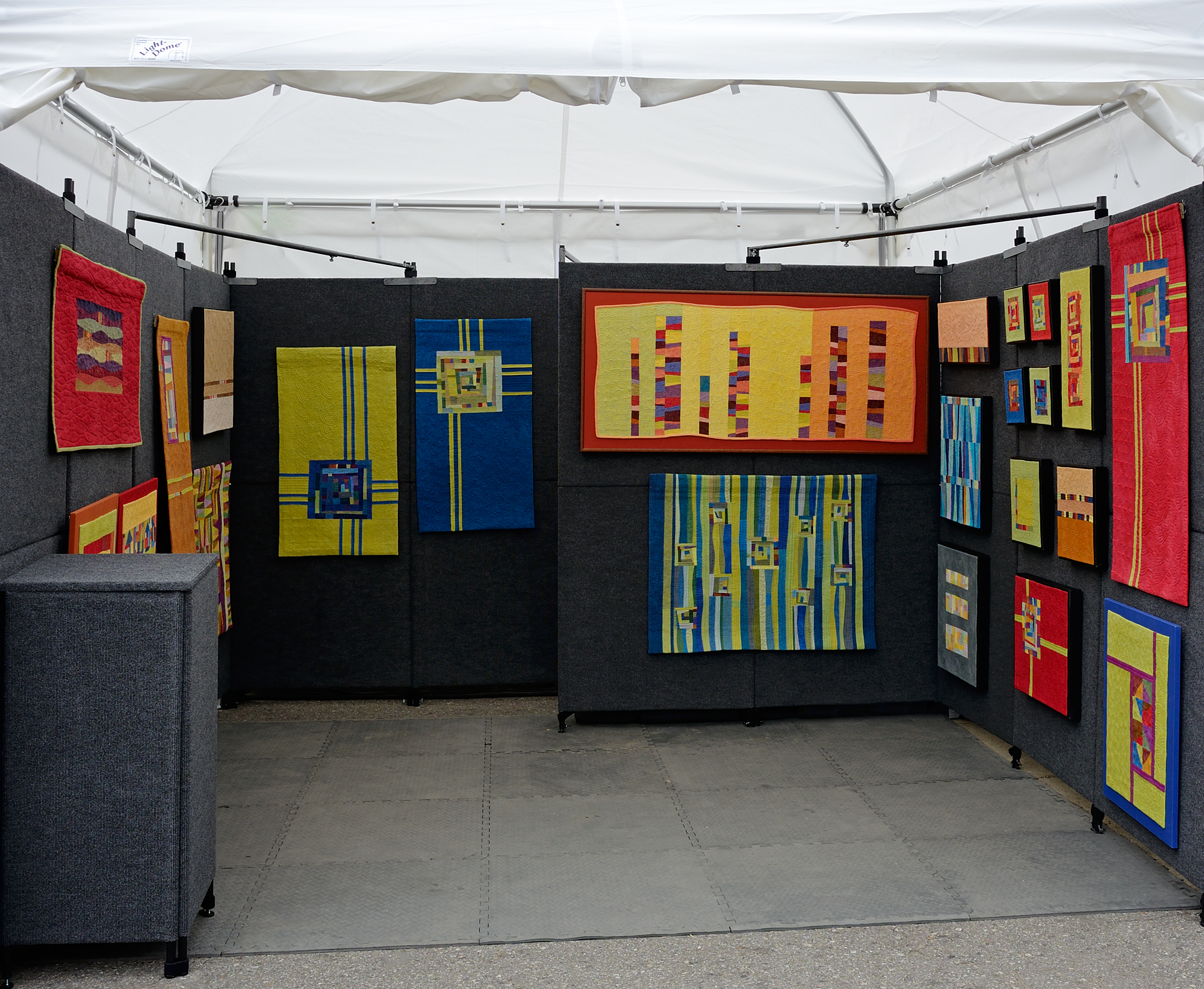 Cindy Grisdela Booth Display