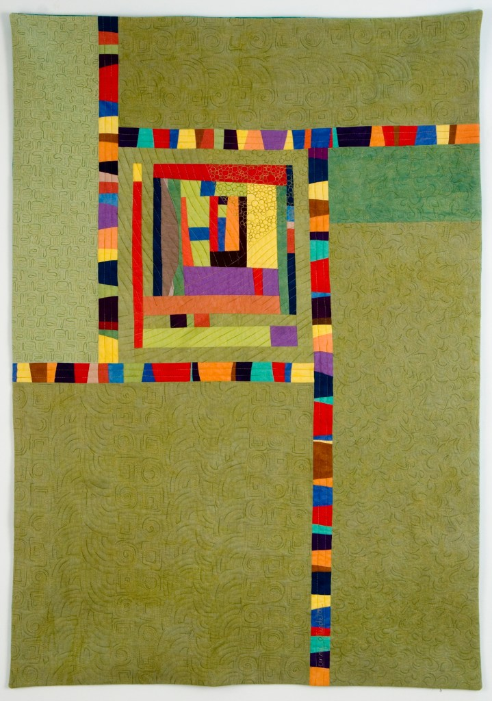 Intuition Art Quilt - Cindy Grisdela