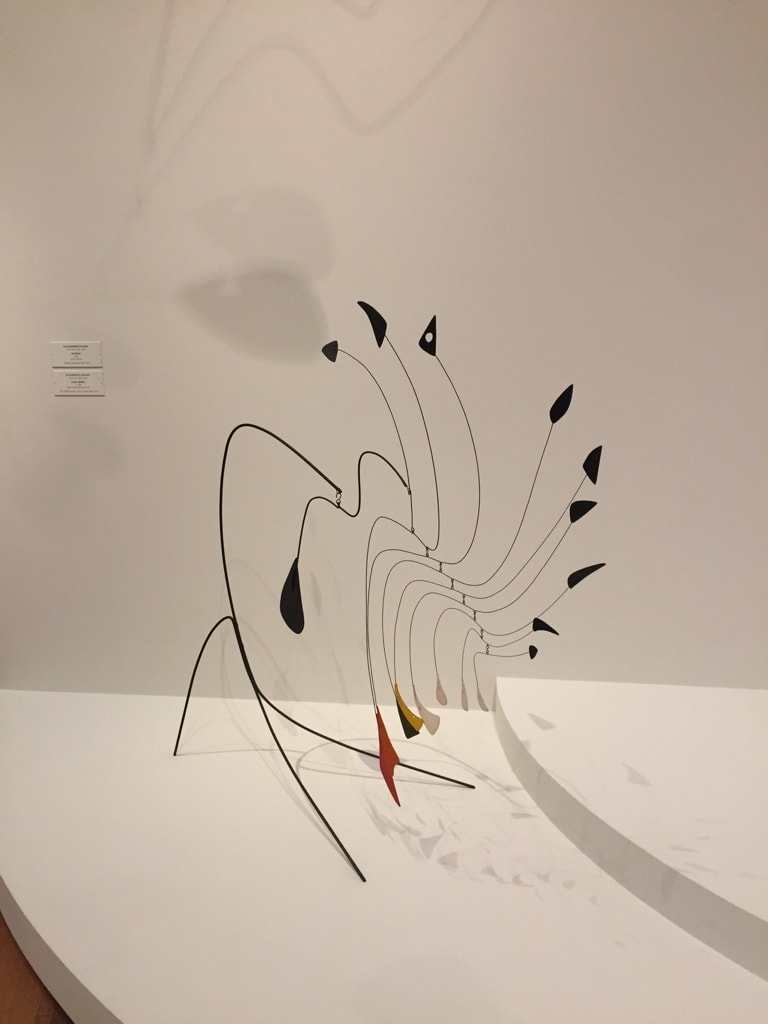 Alexander Calder Sculpture with shadows East Wing Tower - Cindy Grisdela