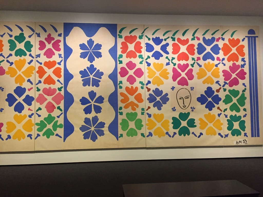 Henri Matisse Cutouts at the East Wing - Cindy Grisdela