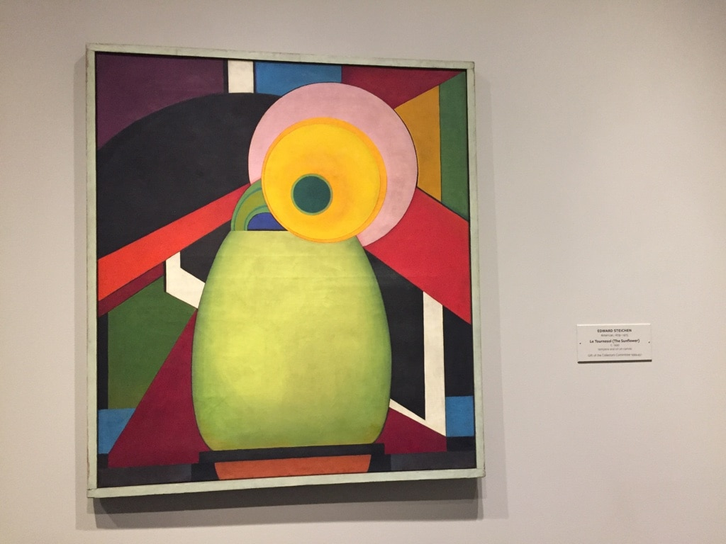 "Edward Steichen ""Sunflower"" painting East Wing - Cindy Grisdela"